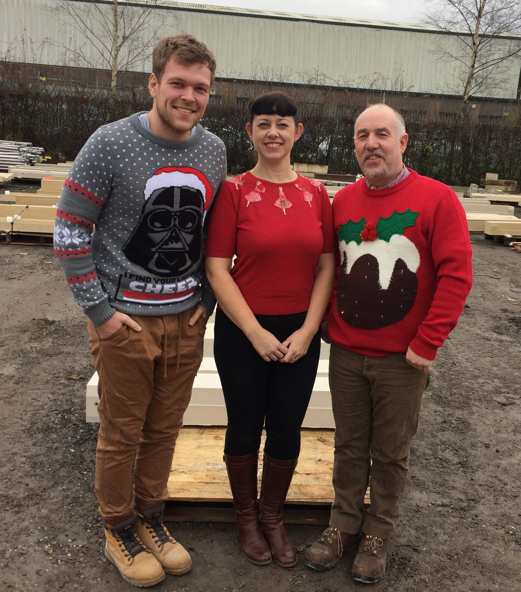 Christmas jumpers at SPP
